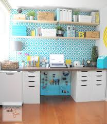 Organizing ideas for home office Ikea My Home Office Ivchic Organizing Made Fun
