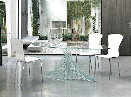 glass kitchen table best glass dining room table set beautiful how will a glass dining table