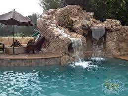 backyard pool with slides. Amazing Backyard Pools With Slides Pool I