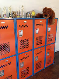 this is a simply perfect way to use a new locker in your kid s room or perhaps a mud room laundry room garage or basement game room