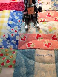 Best 25+ Walking foot quilting ideas on Pinterest | Machine ... & Orange Peel Quilting with a Walking Foot on bloominginchintz.blogspot.com Adamdwight.com