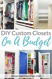 diy closet room. See How I Completed DIY Closet Remodels In Every Our Home On A Budget Diy Room