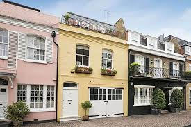 London Mews House Just Off Grosvenor Square London W1 UK Stock Mews Home