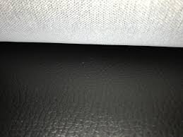 black faux leather upholstery fabric