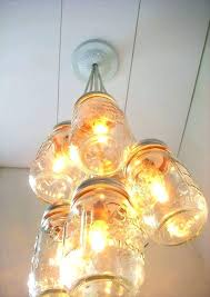 how to make a chandelier with mason jars ceiling lights mason jar ceiling light lights do how to make a chandelier