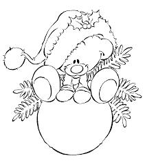 Kleurplaat Van Kerstballen