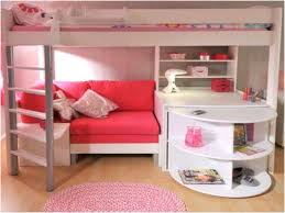 Image of Bunk Beds With Desk And Sofa Bed Cute