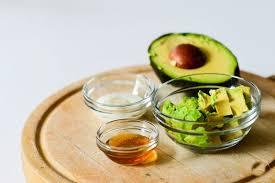 avocado honey yogurt