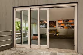 triple sliding glass patio doors designs