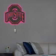 ohio state buckeyes wall decor cutout
