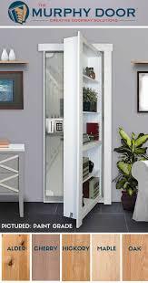 Flush Mount Hidden Door Package | Secret Door | Pinterest | Doors ...