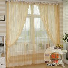 aliexpress com hot light shading curtain modern sheer curtains window screen curtain yellow voile curtains for living room from reliable curtain