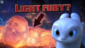 Light Fury Dragon Babies Are These Light Fury Eggs How To Train Your Dragon The Hidden World