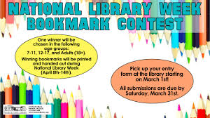 Keokuk Events National Library Week Bookmark Contest