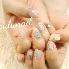春夏旅行デートハンド Ulunail2106のネイルデザインno3097872