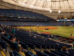 Rays Seating Chart Tropicana Field Section 132 Seat Views Seatgeek