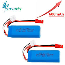7,4 V 600 мА/ч, 20C <b>Lipo</b> Батарея для <b>WLtoys</b> K969 K979 K989 ...
