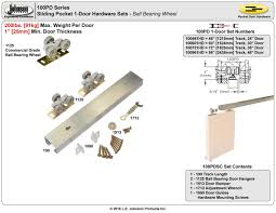 commercial door hardware. Picture Of 100PDHD 1-Door Hardware Set, 48\ Commercial Door