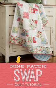 455 best Quilting Tutorials images on Pinterest | Quilt patterns ... & Learn to create this gorgeous 9 Patch Swap with Jenny of Missouri Star  Quilt Company. Adamdwight.com