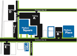 parking map square campus