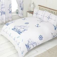pillowcases bed cover set nautical
