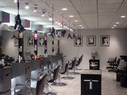 modern beauty salon furniture. Incredible Color Schemes For Beautiful Hairs Salon With Modern Interior Design And Recessed Lighting Beauty Furniture L