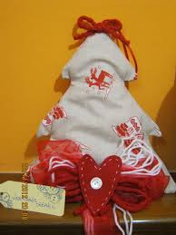 Decorazioni natalizie stoffa: decorazioni natalizie in legno