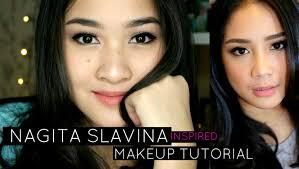 nagita slavina inspired makeup tutorial wardah one brand tutorial kiara leswara you