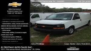 Used 2004 Chevrolet Express Cargo Van | A1 Bestway Auto Sales Inc ...