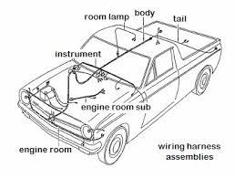 tech wiki sunny truck wiring datsun 1200 club wire harness assembly process Wiring Harness Wiki #15