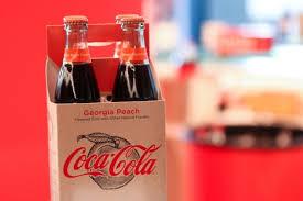 in march 2018 two new coca cola flavors will grace shelves in the united states coca cola georgia peach and coca cola california raspberry