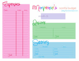 Printable Monthly Budget Template | Budget Template Free