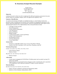 Business Analyst Resume Skill Example Of Business Analyst Resume
