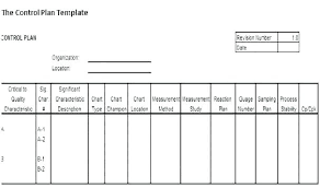 Quality Control Excel Template Quality Control Plan Template Construction