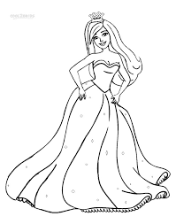 Small Picture Barbie Coloring Pages Printables 10023