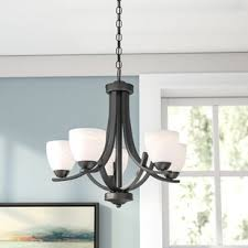 low ceiling lighting. Crofoot 5-Light Shaded Chandelier Low Ceiling Lighting N