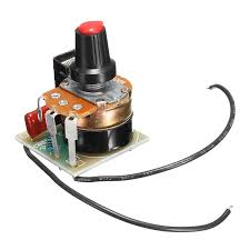 2Pcs <b>500W</b> AC <b>220V</b> SCR <b>Voltage</b> Regulator Speed Lamp ...
