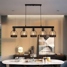 dining room industrial hanging light