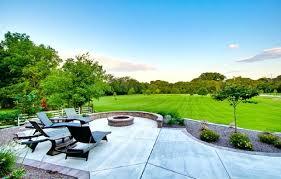 enchanting concrete patio ideas with fire pit concrete patio designs with fire pit how to clean