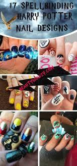 Harry Potter Nail Designs Easy Diy Harry Potter Nails Designs Diy Cuteness