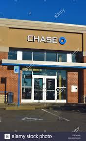 chase bank in ferndale washington usa stock image
