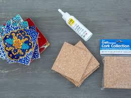 easy diy tile coasters materials
