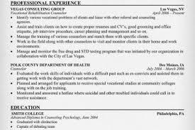 mental health counselor resume mental health counselor resume mental vocational counselor resume