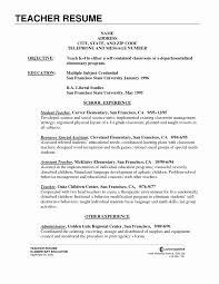 Write A Resume For Teacher Job Professional Resume Templates