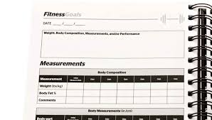 Saltwrap Daily Fitness Planner Training Log Food Journal The