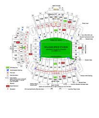 Gamecock Seating Chart Usc Gamecocks Stadium Map