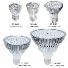 High Quality <b>LED Grow</b> Light Full Spectrum <b>18w 28w</b> 35W 50W 80W ...