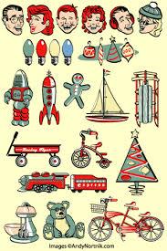 Retro Holidays Retro Holiday Graphics Clipart