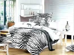animal print bedding sheets black and white zebra print bedding set queen size duvet cover linen animal print bedding