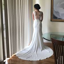 Stella York 6476 French Lace Wedding Dress